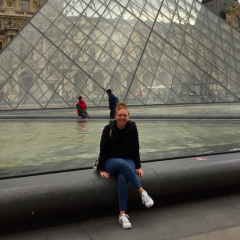 Amy Bergman in Paris