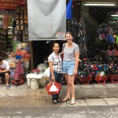Sophie Ryan in Vietnam.