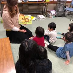 Brooke with her class in Japan