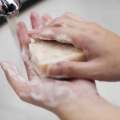 hand washing.